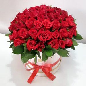 Roses Hat Box delivery Kenya
