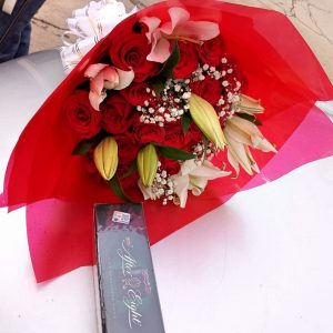 chocolate and flowers Gifts Nairobi