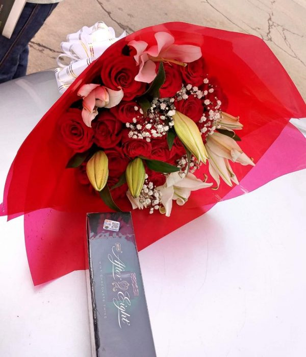 chocolate and flowers Gifts Nairobi