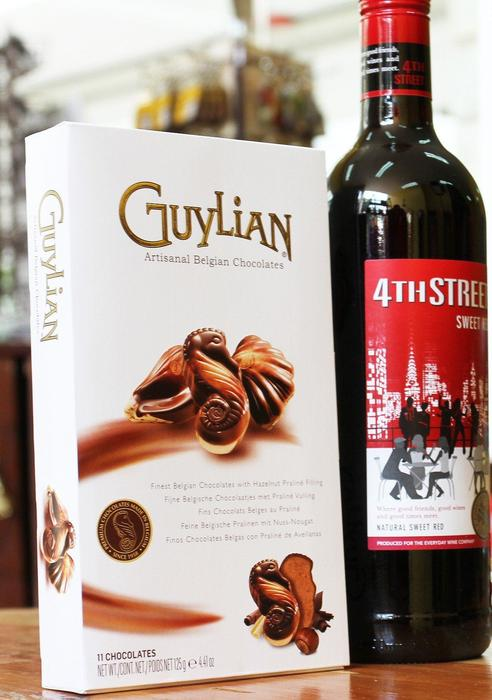 Gift with wine