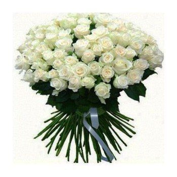 Many White roses bouquet delivery Nairobi
