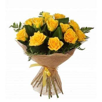 Online delivery of Yellow roses bouquet Nairobi