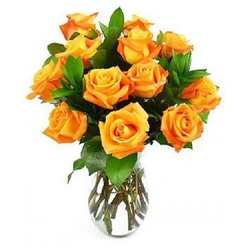 Orange flower bouquet delivery NAirobi