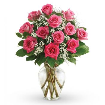 Pink roses bouquet Nairobi