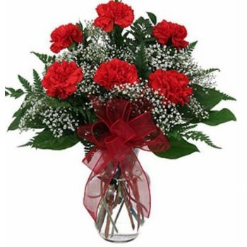Red flowers bouquet delivery in NAirobi