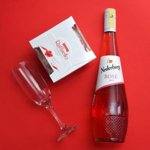 Raffaello Choco and Rose Wine Bundle