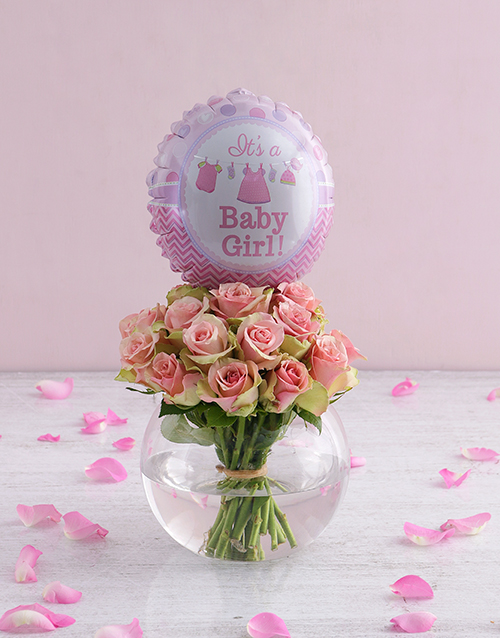 baby girl bouquet delivery nairobi